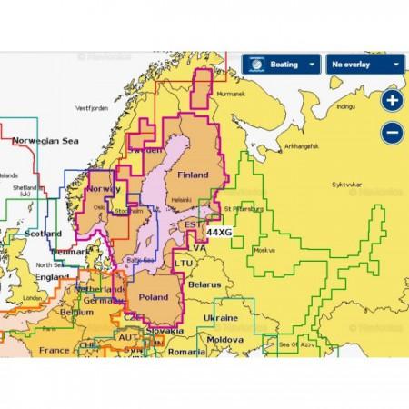 Карта глубин - Балтийское море
