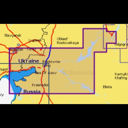 Карта глубин - Волго-Донской канал