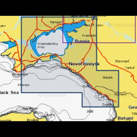 Карта глубин - Азовское море